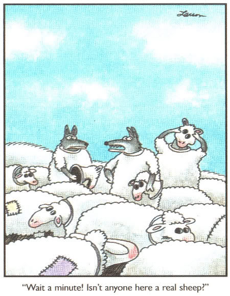 Larson-FarSide-WolfinSheepclothing.jpg Wolves in sheep clothing image by walski69